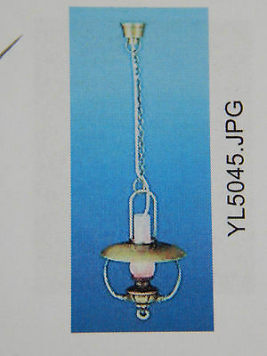 Heidi Ott Dollhouse Miniature Light 1:12 Scale Oriental Hanging Lamp #YL5050RFBA