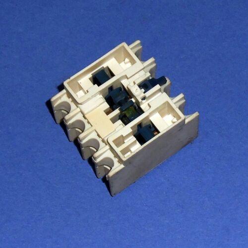TELEMECANIQUE 10A CONTACT BLOCK LADN31 LA1 DN31 *LOT OF 5*