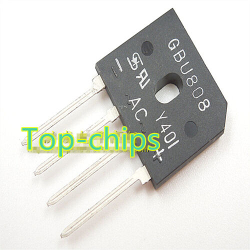10PCS GBU808 New Best Offer RECT BRIDGE GPP 8A 800V GBU
