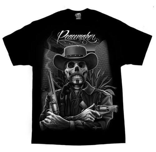 Lowrider DGA Brand PEACEMAKER Homies RANCHERO Shirt Gangster Clothing Pistolero