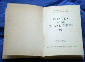 Rouge et Or / Contes d'une Grand'Mère / George Sand 1952 *