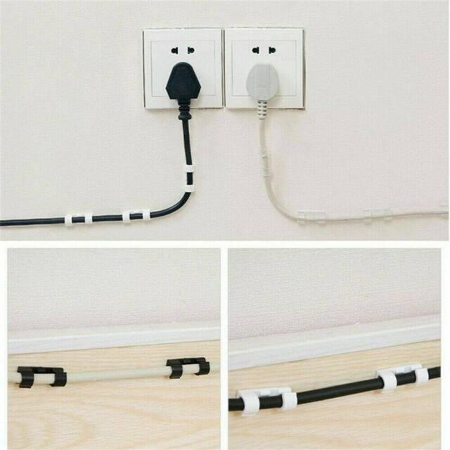 Mounting Cord Clip Self-adhesive Adhesive DIY Base Cable Holder Wholesale