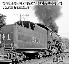 Train Sounds On CD: Sounds Of Steam In The 50s, Volume 1 - The East (Re-release)