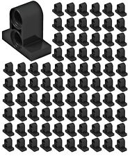*NEW* 25 Pieces Lego BLACK TECHNIC PIN Connector Plate 1 x 2 x 1 2//3 w 2 Holes