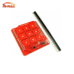 3x3-Keyboard-Capacitive-Touch-Shield-for-Arduino-MPR121-Sensor-Button-Control