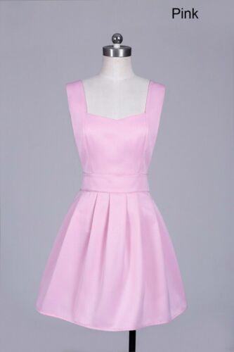 Lady Bib Apron Solid Pocketed Pleated Waitress Uniform Home Workwear Cute Modern