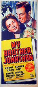MY-BROTHER-JONATHAN-1947-Michael-Denison-Dulcie-Gray-AUSTRALIAN-POSTER