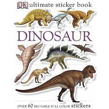 Ultimate Sticker Book: Dinosaur (Ultimate Sticker Books) - Acceptable - DK Publi