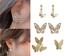 925-Silver-Elegant-Butterfly-Earring-Ear-Stud-Women-Girls-039-Jewelry-A-pair-Set-UK thumbnail 2