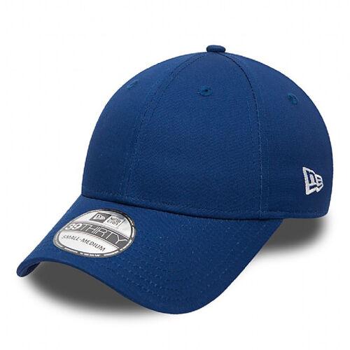 New Era Nuevo Azul Básico 39thirty Gorra Ajustada Elástica Nuevo con Etiqueta