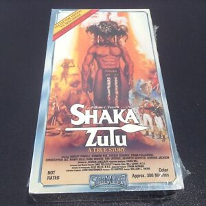 William C. Faure's Shaka Zulu (VHS) A True Story - Henry Cele NEW SEALED