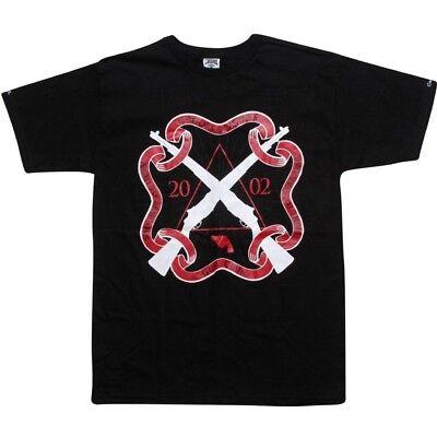 Crooks And Castles Gun Club Black Red T Shirt 810703blk To Enjoy High Reputation In The International Market Men's Clothing