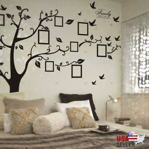 Captivating Image Is Loading Family Tree Wall Decal Sticker Large Vinyl Photo