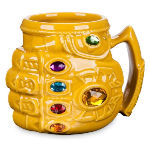Disney Store Thanos Infinity Gauntlet Mug Marvel Avengers Infinity War New
