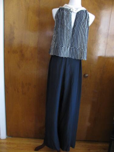 Anthropologie Laureate Lane Women/'s Silk The Ashley Jumpsuits Size S M L NWT