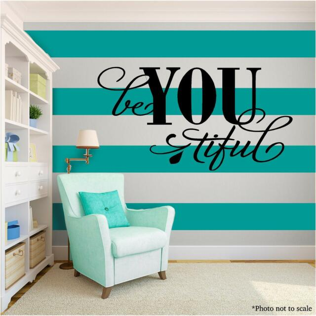 BEAUTIFUL Vinyl Wall Art quote Home Family Decor Decal Word & Phrase Saying