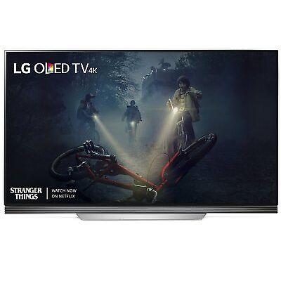"""LG E7 55"""" 4K UHD HDR OLED webOS 3.5 Smart TV (OLED55E7P) - 1 YR MNF WARRANTY"""