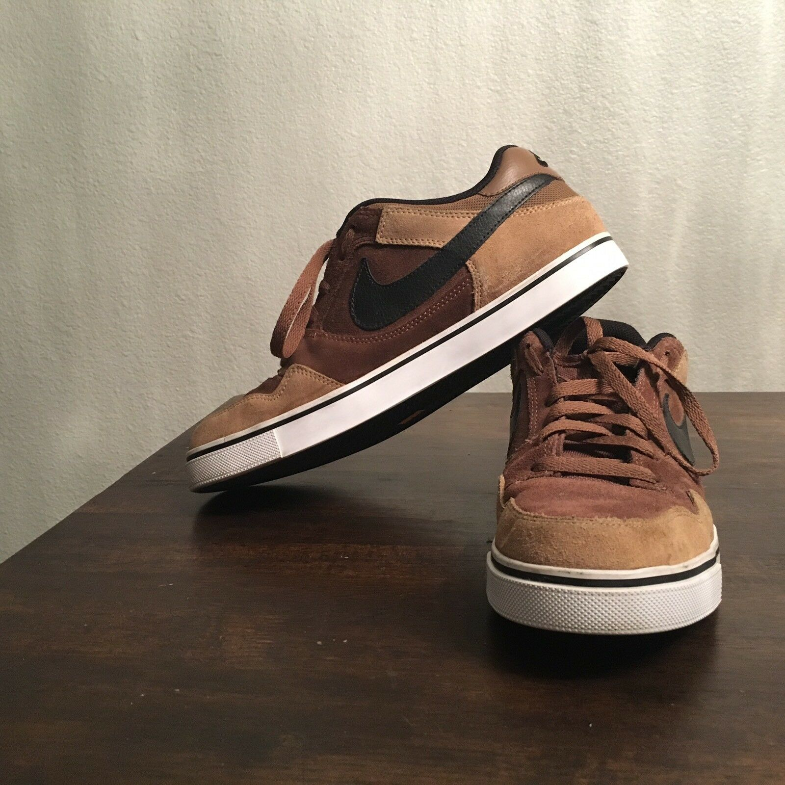 Nike Paul Rodriguez 2.5 Brown Suede Men's Comfortable