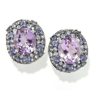 Image Is Loading Pinctore Platinum O Silver 12 18ctw African Amethyst