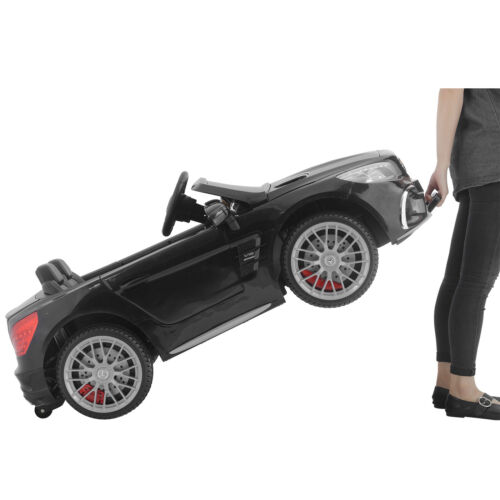 SL65 12V Kids Ride On Car Toy Double Seat Licensed Mercedes W//Remote MP3/&Light