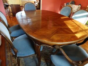 Image Is Loading John Widdicomb Dining Room Table Mid Century With
