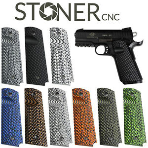 Details about 1911 Golf Ball Gun Grips Full Size 1911 or Compact  Springfield EMP or PT1911 G10