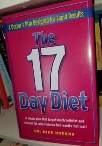 Image is loading The-17-Day-DIET-BOOK-mike-moreno-Hardcover-