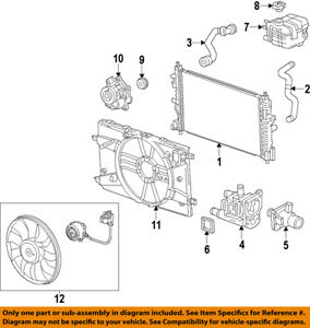 [SCHEMATICS_4ER]  Chevrolet GM OEM 12-18 Sonic-Engine Coolant Thermostat 25199828 | eBay | Gm Engine Coolant Diagram |  | eBay