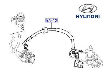 17925-04052 Hose Genuine Hyundai