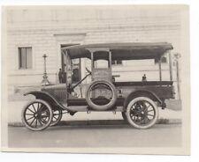 "Pier #16/"" CA /""Ghirardelli Chocolate Delivery Truck Photo 1910s San Francisco"