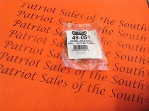 2 49-051 Oregon Oil Seal for 921-04031 9621 92104031 MTD Troy Bilt