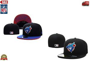 Toronto-Blue-Jays-New-Era-59FIFTY-Fitted-Cap-5950-Black-MLB-Official-Special