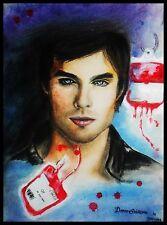 Ian Somerhalder Damon THE VAMPIRE DIARIES small art poster print