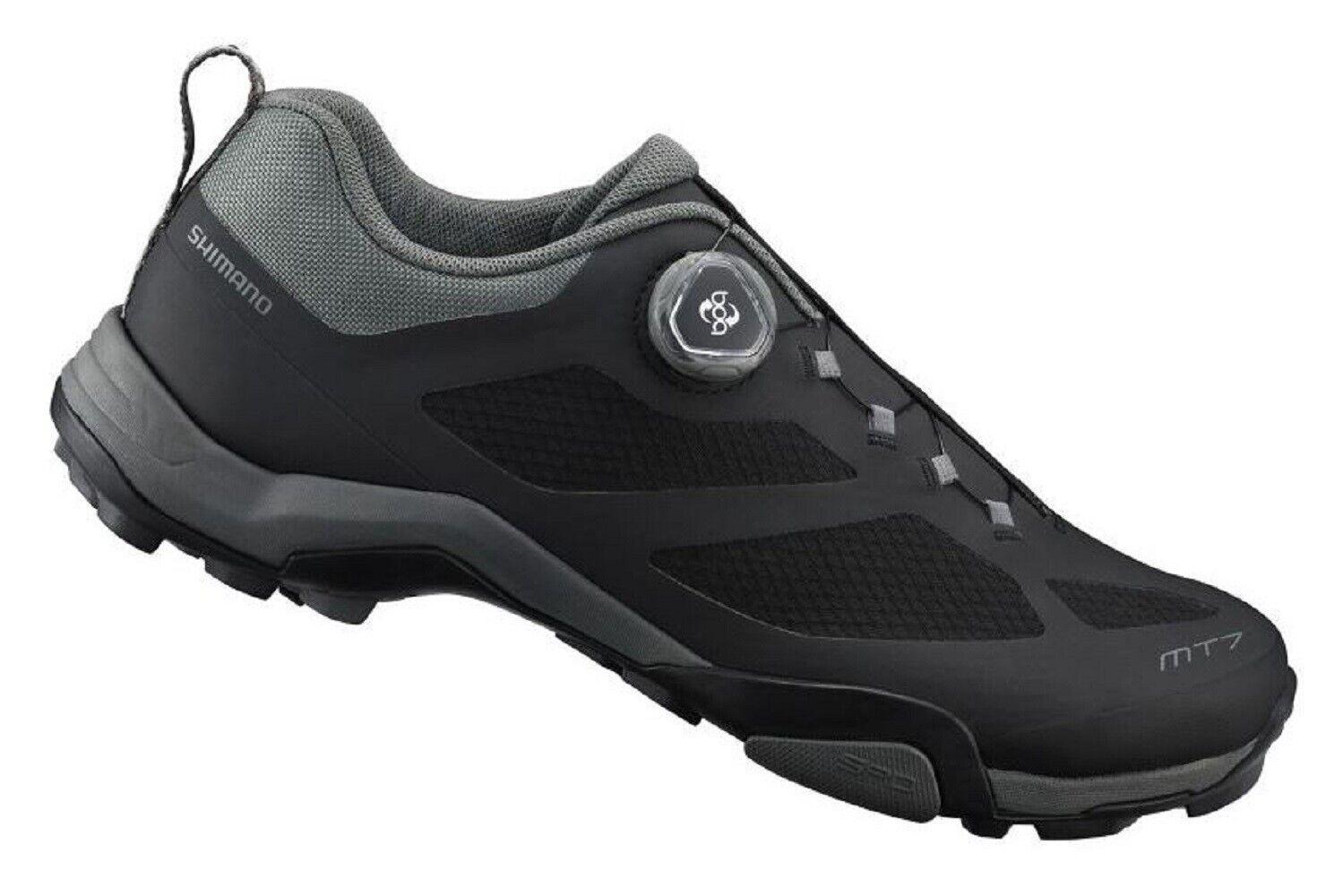Bicicleta Shimano zapatos sh-mt7, Mountain Touring, negro, talla 44, boa ® cierre
