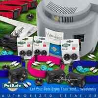 Petsafe Pif-300 Wireless Fence 3 Pif-275 Dog Collar Receiver 3-dog System