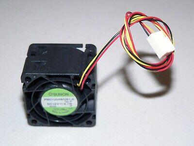 Sunon PMD1204WQB1-A .B1736.F.GN 12VDC 9.1W 40x40x28mm 3-pin case cooling FAN 2