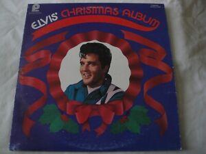 Elvis Christmas Album Vinyl.Details About Elvis Christmas Album Vinyl Lp Album Rca Camden Pickwick Records Blue Christmas