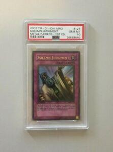 2002-YuGiOh-Solemn-Judgment-MRD-127-1st-Edition-PSA-10-Metal-Raiders-Ultra-Rare