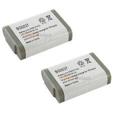 2 Home Phone Battery 350mAh NiCd for Panasonic KX-TGA273S HHR-P103 HHR-P103A