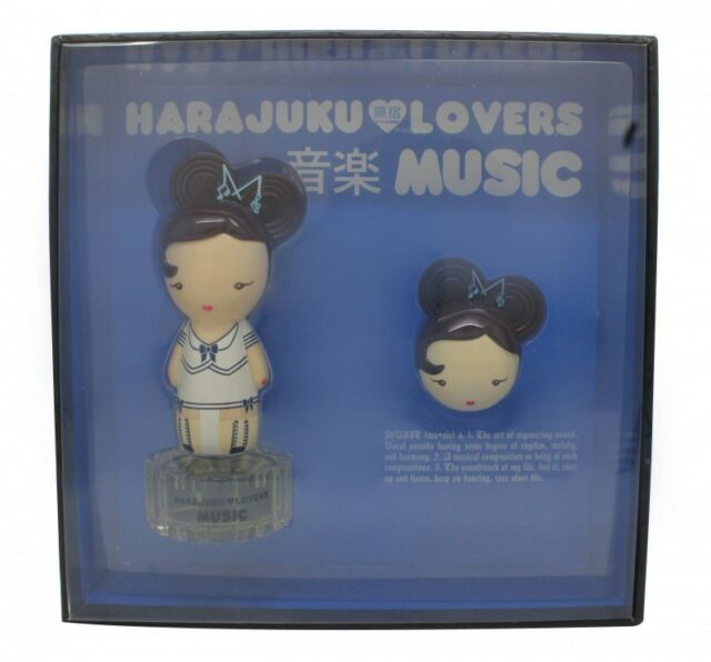 GWEN STEFANI HARAJUKU LOVERS MUSIC GIFT SET 30ML EDT + 1.2G SOLID PERFUME. NEW