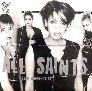 All-Saints-CD-Single-I-Know-Where-It-039-s-At-Europe-EX-EX