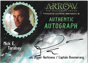 Arrow-Season-3-Auto-Autograph-Card-Nick-E-Tarabay-Capt-Boomerang-NET