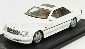 TOPMARQUES 1/43 MERCEDES BENZ | CL-CLASS CL600 AMG 7.0 COUPE 1994 | WHITE