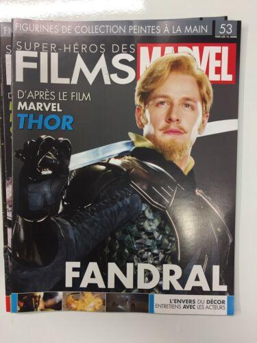 Fandral Thor figurine super héros des films marvel n°53 Fascicule Neuf