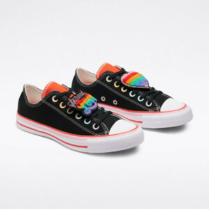 Converse X Millie Bobby Brown Womens Shoes New Spread Love Chucks Free Shipping Ebay