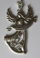 C Kelsey Never Drive Faster Than Your Guardian Angel Can Fly Car Charm Ornament
