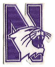 "NORTHWESTERN WILDCATS NCAA COLLEGE 5"" TEAM LOGO PATCH"