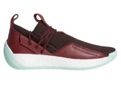 Rojo Nuevo Adidas Harden 2 Ls con Cg6277 Hombre Lace Env caja granate 00p4w