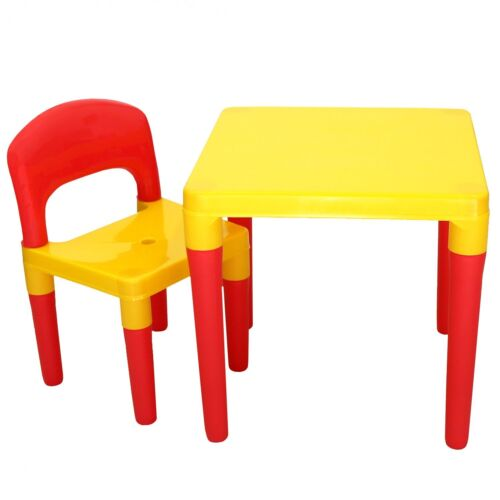 NEW Kids Childrens Table /& Chair Furniture Set Bedroom Playroom