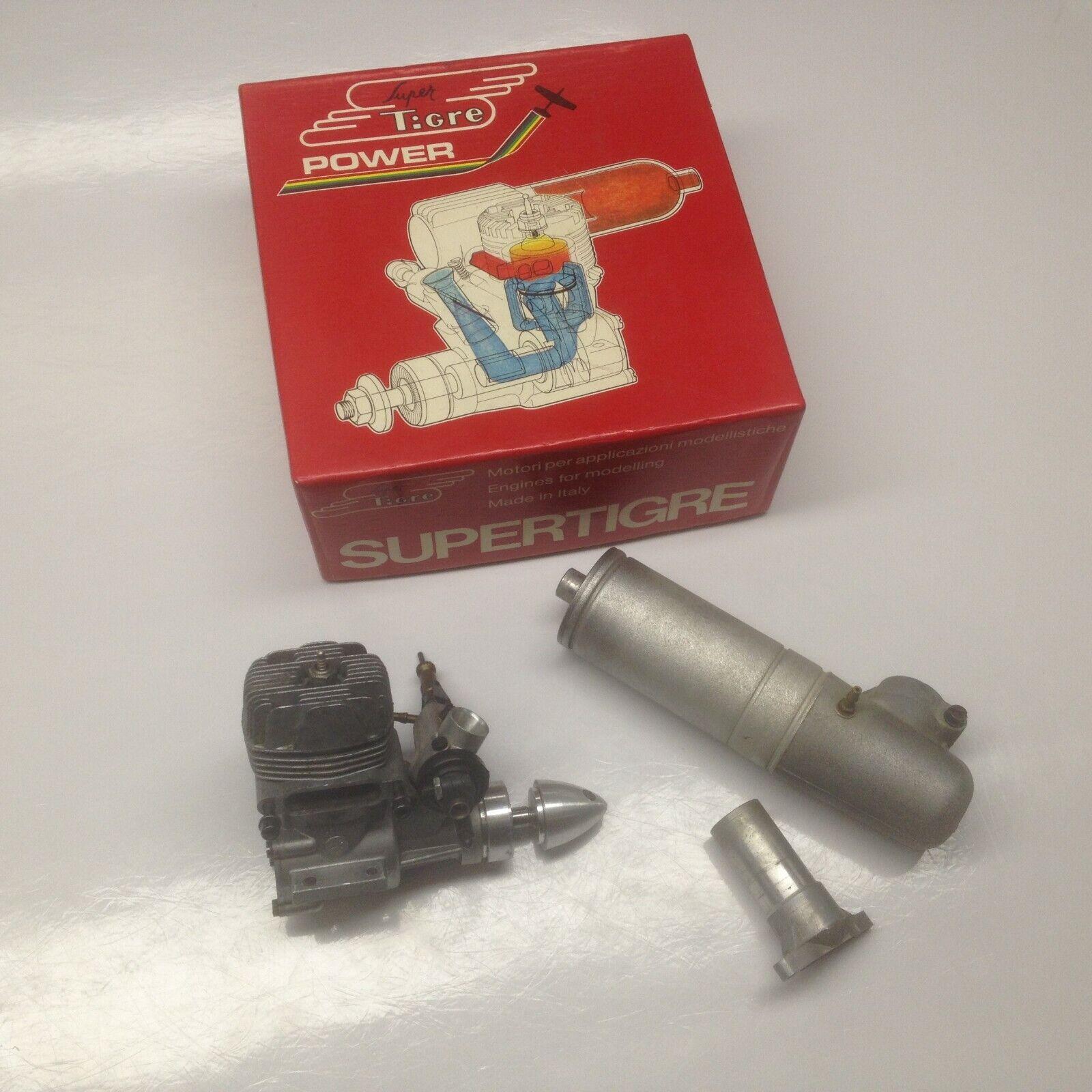 Supertigre S40 RC Engine w   Muffler  alta quaità